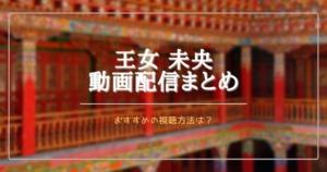 中国ドラマ王女未央を無料視聴できる動画配信サブスクは?日本語字幕は?